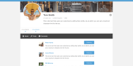 Users Can See Their Followers And Who They Are Following On Their Profile