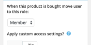 Assign A User To A Particular Role Depending On The Product They Purchase