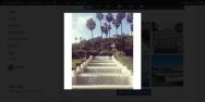 Portrait Cropped Instagram Photo In Modal