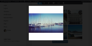 Landscape Cropped Instagram Photo In Modal