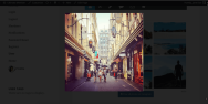 Square Instagram Photo In Modal