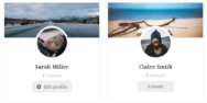Allows Users To See Who They Are Friends With On Member Directory Page