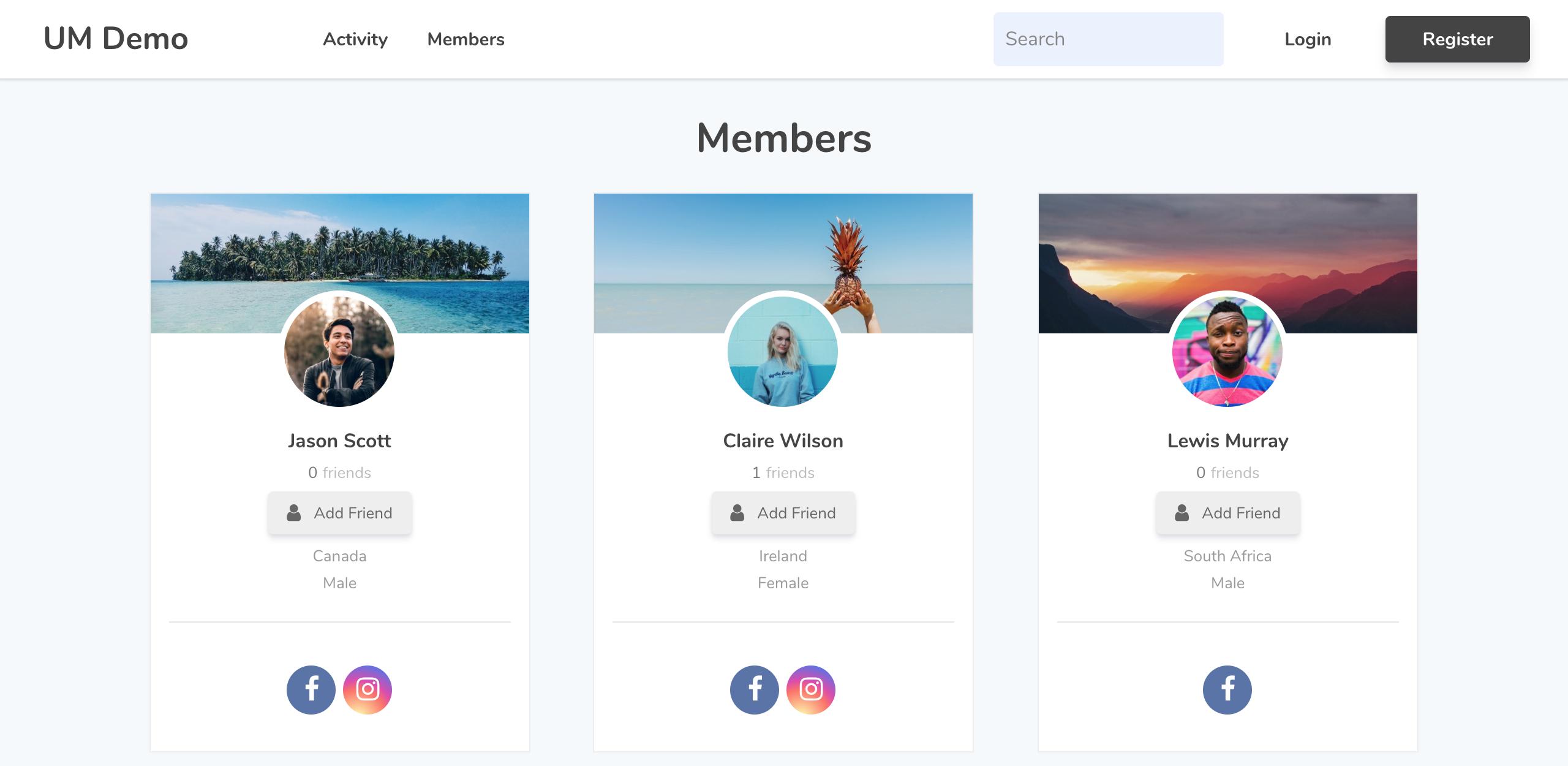 Theme | Ultimate Member